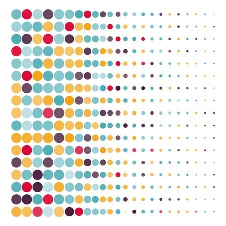 manic: Background with the colored dotted circles
