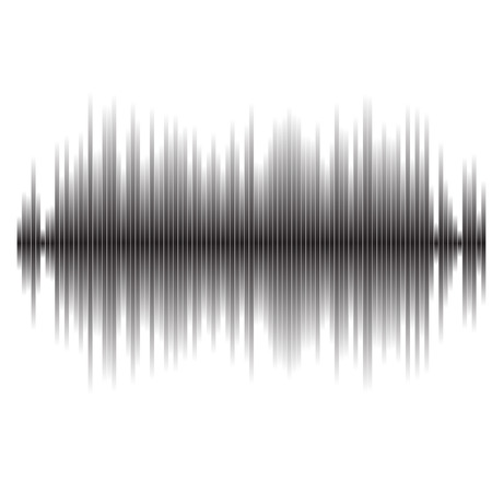 Vector sound waves set. Audio equalizer technology, pulse musical. music pattern and texture Illustration