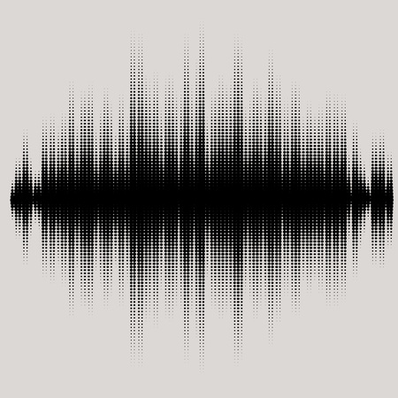 soundtrack: Vector sound waves set. Audio equalizer technology, pulse musical.  music pattern and texture