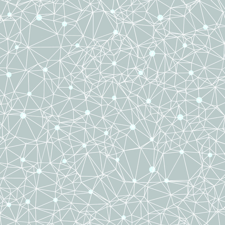Beautiful polygonal constellation vector illustration of a starry night also good for DNA themes