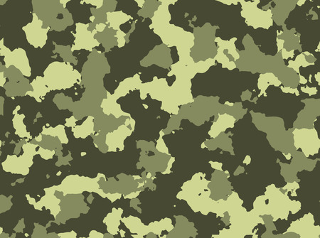 Seamless woodland camo pattern vector eps 10 vector illustration