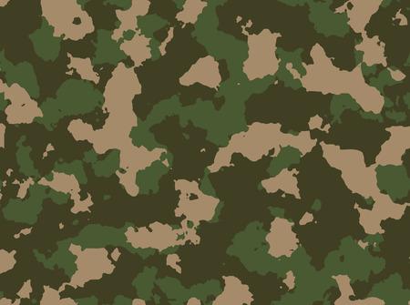 Seamless woodland camo pattern vector eps 10 vector illustration Imagens - 48452244