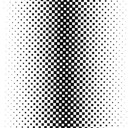Seamless monochrome square pattern
