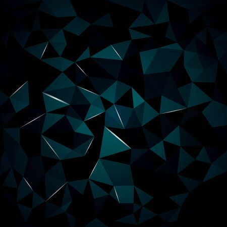 abstract background from crystal, you can change the color keeping the same 3d image Иллюстрация