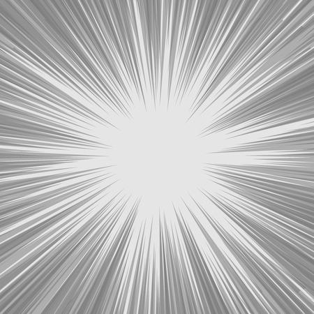 lineas horizontales: La velocidad del cómic líneas horizontales conjunto de antecedentes Vectores