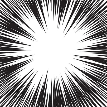 lineas horizontales: La velocidad del c�mic l�neas horizontales conjunto de antecedentes Vectores