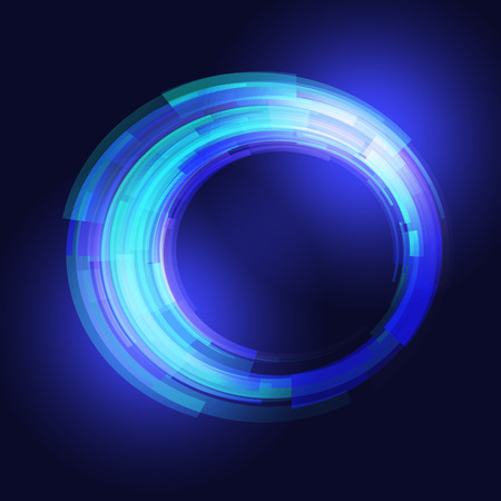 ardent: Abstract ardent technology blue background.  Illustration