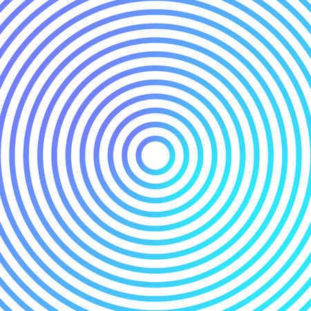 Blue and green metallic background  design with concentric circles