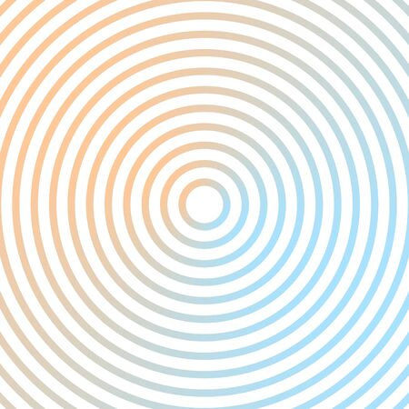 blue metallic background: Blue and orange metallic background design with concentric circles