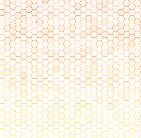 Seamless texture gray hex grid. Vector Illustration. Vetores