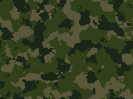 color conceal: Seamless woodland camo pattern vector