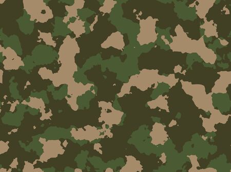 woodland: Seamless woodland camo pattern vector