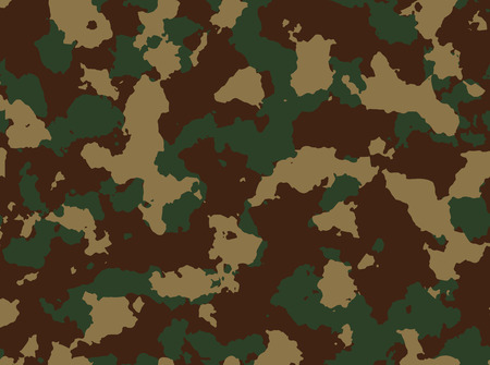 color conceal: Seamless woodland camo pattern
