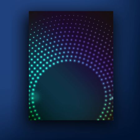 glamur: Vector glamur techno brochure  booklet cover design templates collection