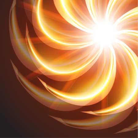 orange swirl: beautiful orange swirl background Illustration
