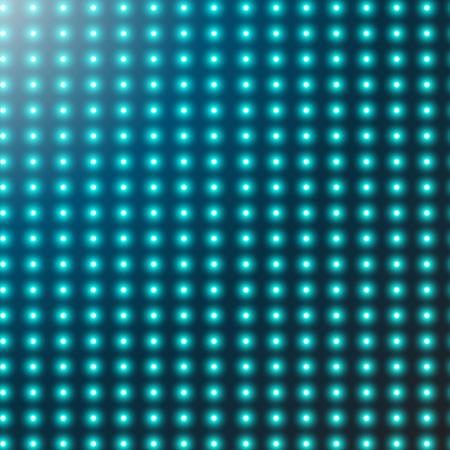 Abstract smooth background with glowing rows of halftone dots