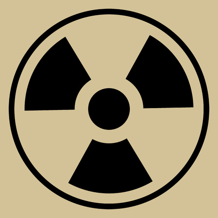 nuclear disaster: Radiation Sign