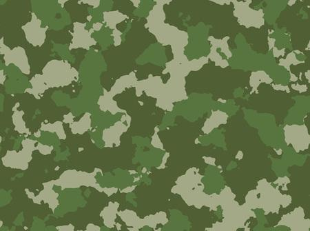 camoflauge: Seamless woodland camo pattern