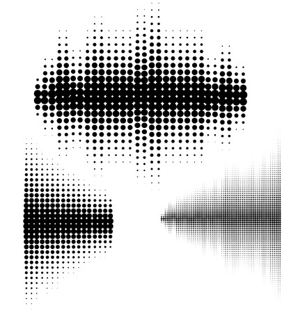 radio dj: Vector sound waves set. Vector illustration of music pattern and texture. You can use in club, radio, pub, DJ show, party, concerts, recitals or the audio technology advertising background.. Illustration