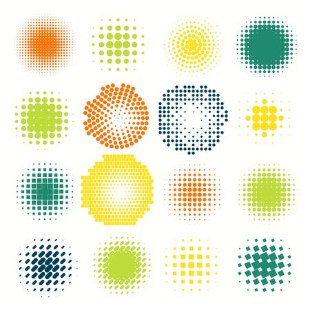 Gyűjtemény árnyalatos gömb vektor sablon. Absztrakt földgömb szimbólum, elszigetelt kerek ikon, üzleti koncepció .A használni a tudomány és a technológia, a turizmus, a pénzügyi és környezeti háttér. Illusztráció