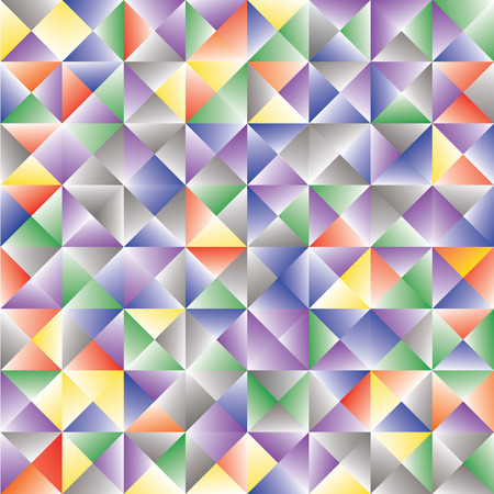 abstract background consisting of triangles Illusztráció