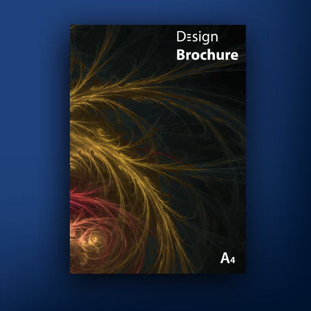 Vector brochure - booklet cover design templates collection Illusztráció