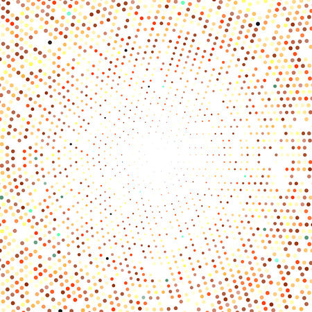 abstract halftone round eps 10 vector illustration Illusztráció