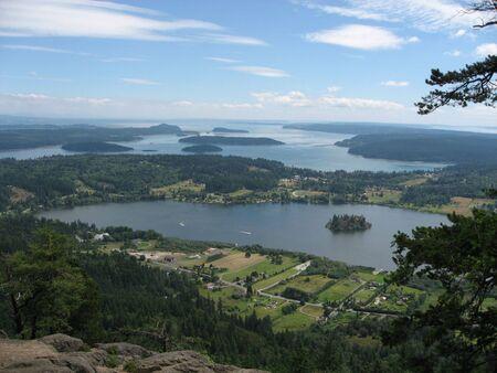 erie: A view from Erie Mountain, Washington, USA