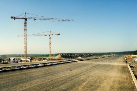 macadam: construction site