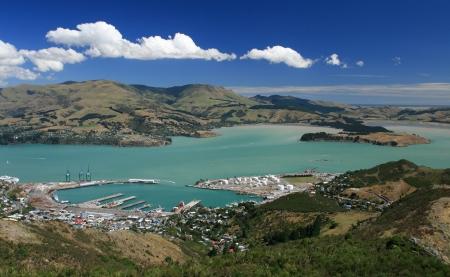 christchurch: Lyttelton Port of Christchurch