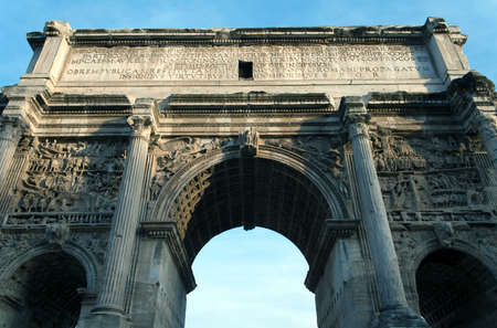 Arch of Titus in Rome, Italy Stock Photo - 9706992
