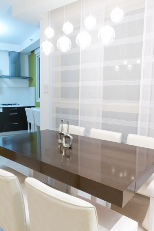 Living room with kitchen in a new house. Stock Photo - 11732461