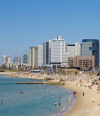 jaffa: Tel-Aviv beach Jaffa. Israel.