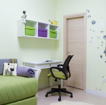 Children's room interior design Stock Photo - 11732605