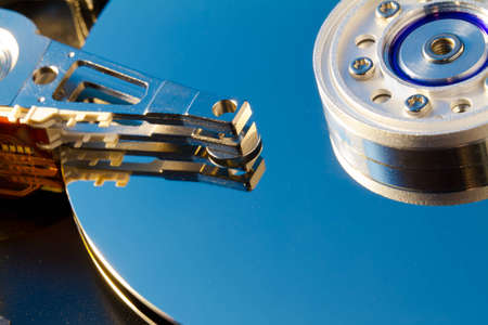 hard: Hard drive disk operating