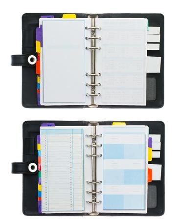 organizer page: High Resolution Set of Organizer  Book
