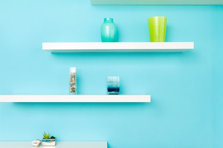 Interior design in a new house Stock Photo