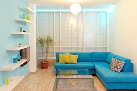 Interior design in a new house Banco de Imagens