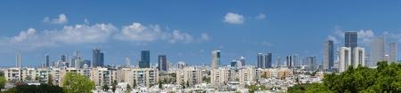 Tel-Aviv and Ramat Gan city. Israel. Stock fotó