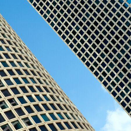 azrieli center: Tel Aviv Azrieli Center Skyscrapers  Stock Photo