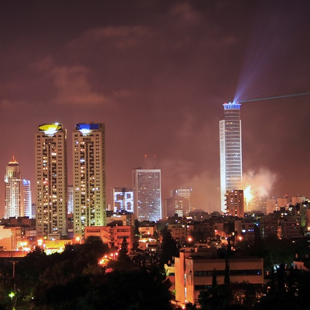 Independence day in Tel Aviv photo