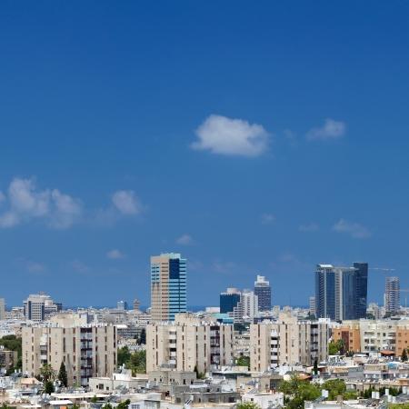 Tel-Aviv panorama city. Israel.