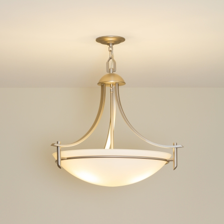 ceiling lamp: Modern ceiling lamp in a new home