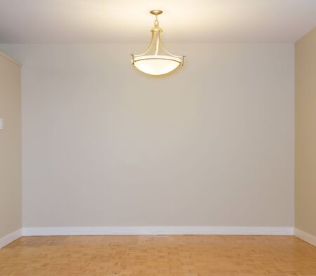 Empty Living Room in a new apartment photo
