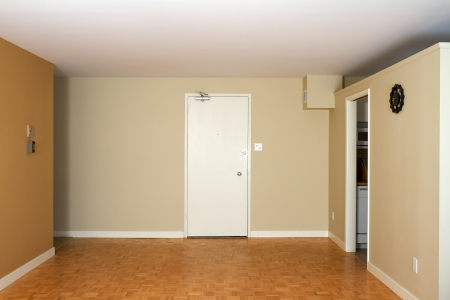 Empty Living Room in a new apartment Stock Photo - 16382929