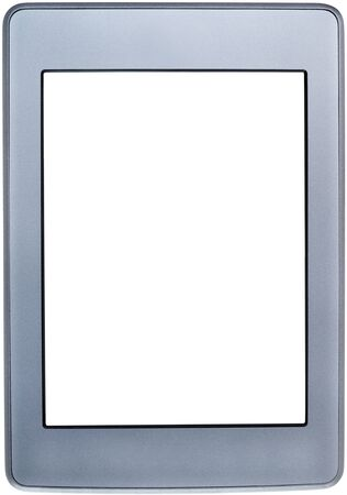 Touch screen tablet with blank white screen, isolated on white background Stock Photo - 16985607