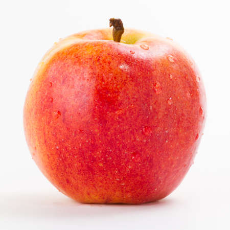 everyday: Red Apple Isolated on White Stock Photo
