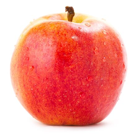 Red Apple Isolated on White Stock Photo - 17066431