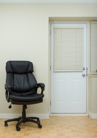 Empty Living room and office Leather chairman chair Stock Photo - 17360928