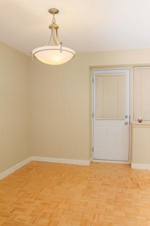Empty Living room with parquet Stock Photo - 17411270